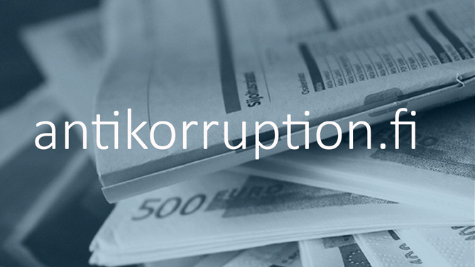 antikorruption.fi-webbplats